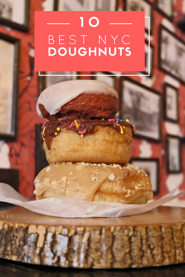 Top 10 Donuts in NYC
