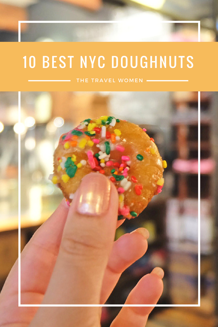 The 10 Best NYC Doughnuts