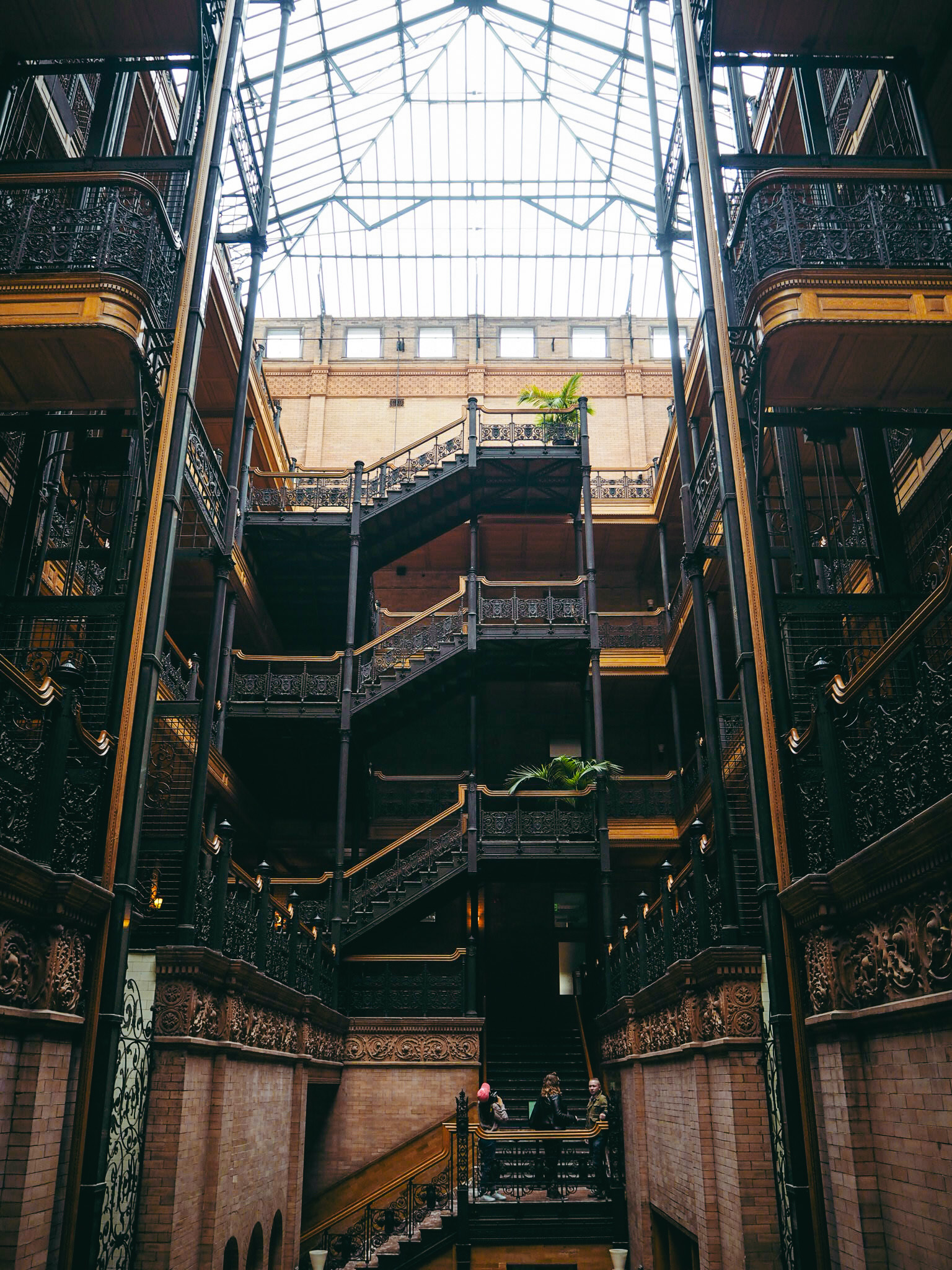 Bradbury Building top things to do in Los Angeles California West Coast Claire