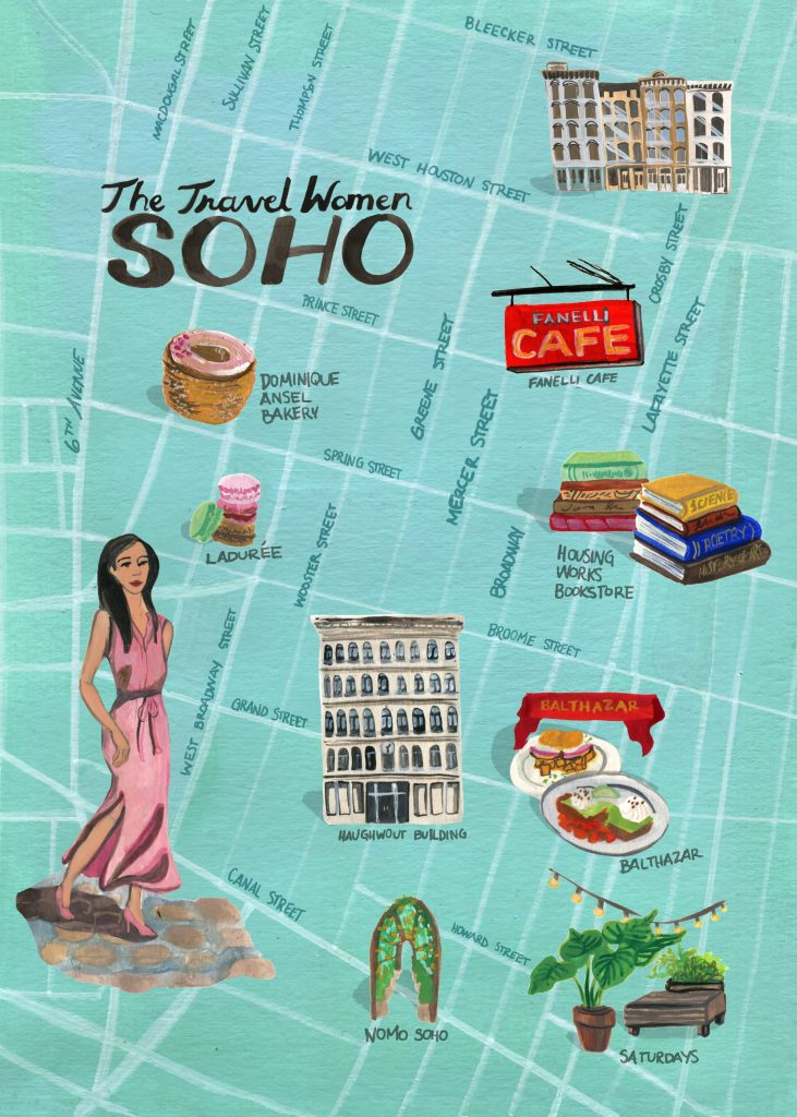 The best things to do in SoHo, New York City!