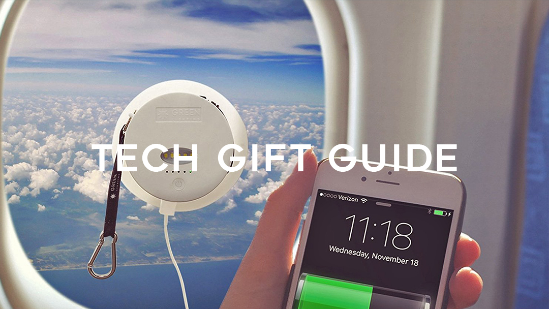 tech gift guide, solar phone charger