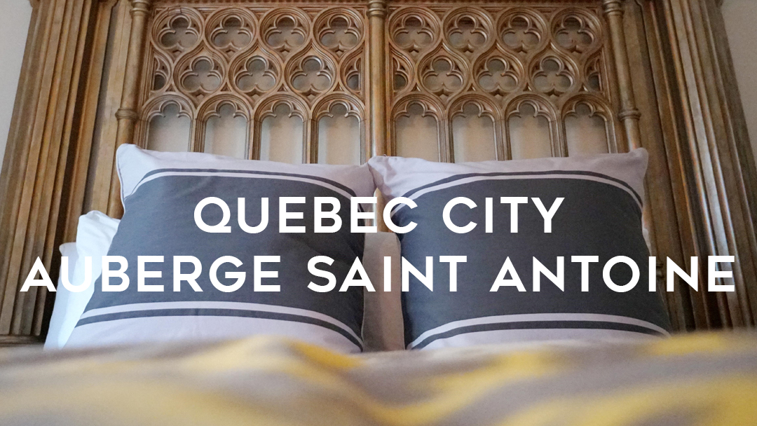 Auberge Saint Antoine Quebec City