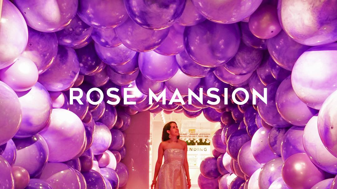 Rosé wine manion NYC