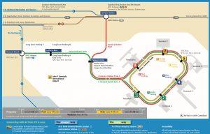 Jfk Subway Map.Jfk Airtrain And Subway Map The Travel Women