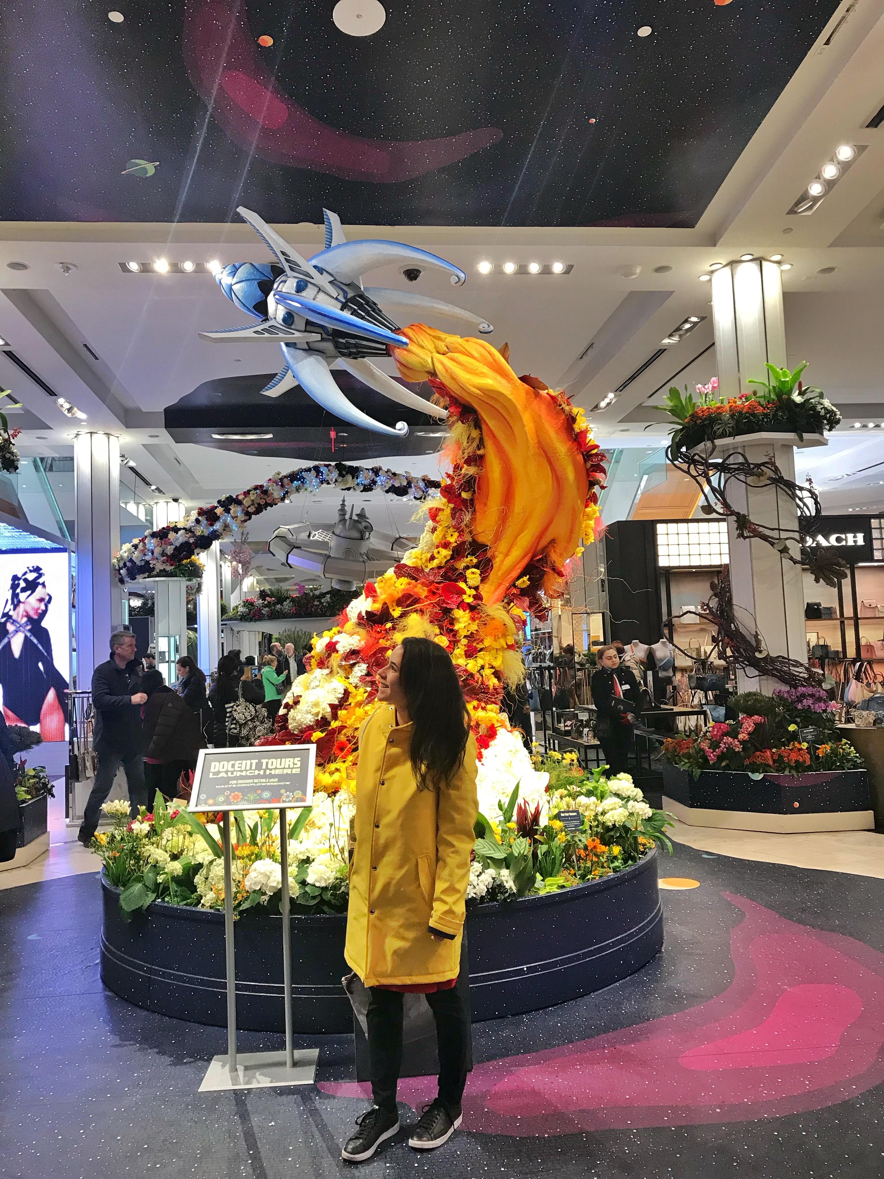 Macy's Flower Show Herald Square, Manhattan, NYC