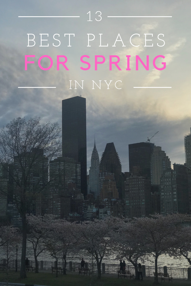 13 Best Places for Spring NYC Roosevelt Island