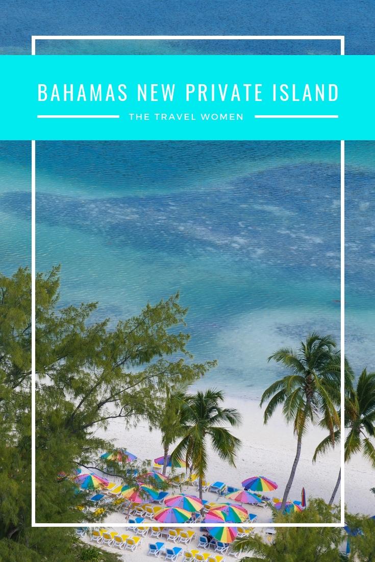 Bahamas New private island blue