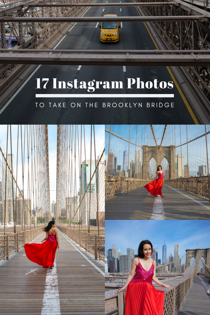 17 Instagram Photos to take on the Brooklyn Bridge