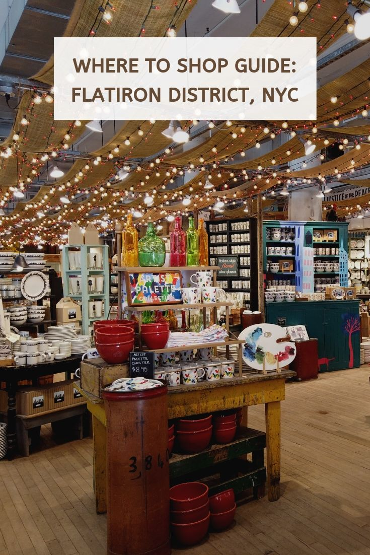 Where to Shop in the Flatiron District, NYC