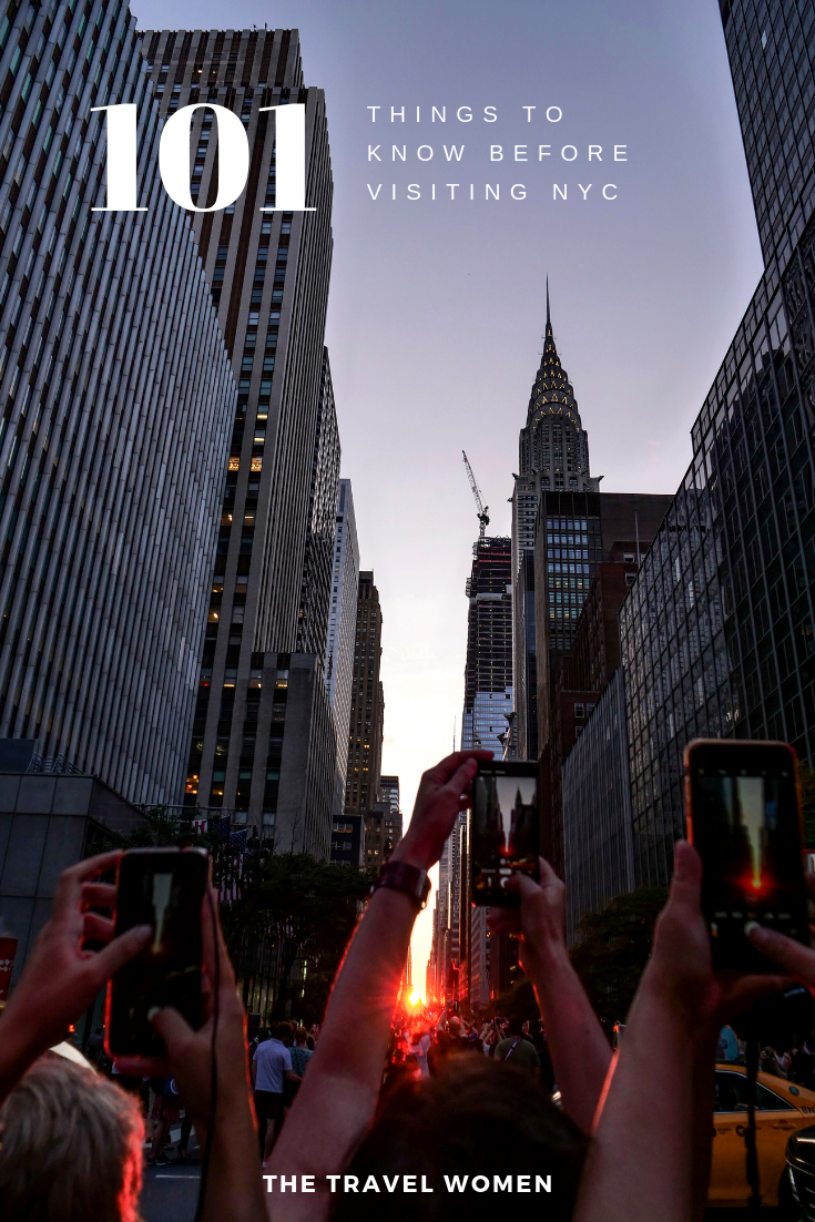 101 things to know before visiting NYC Manhattanhenge
