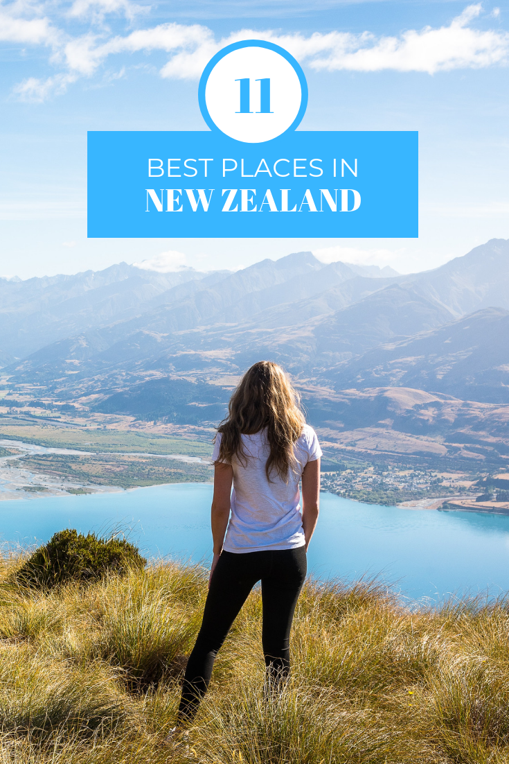 11 Best Places in New Zealand woman overlooking mountains