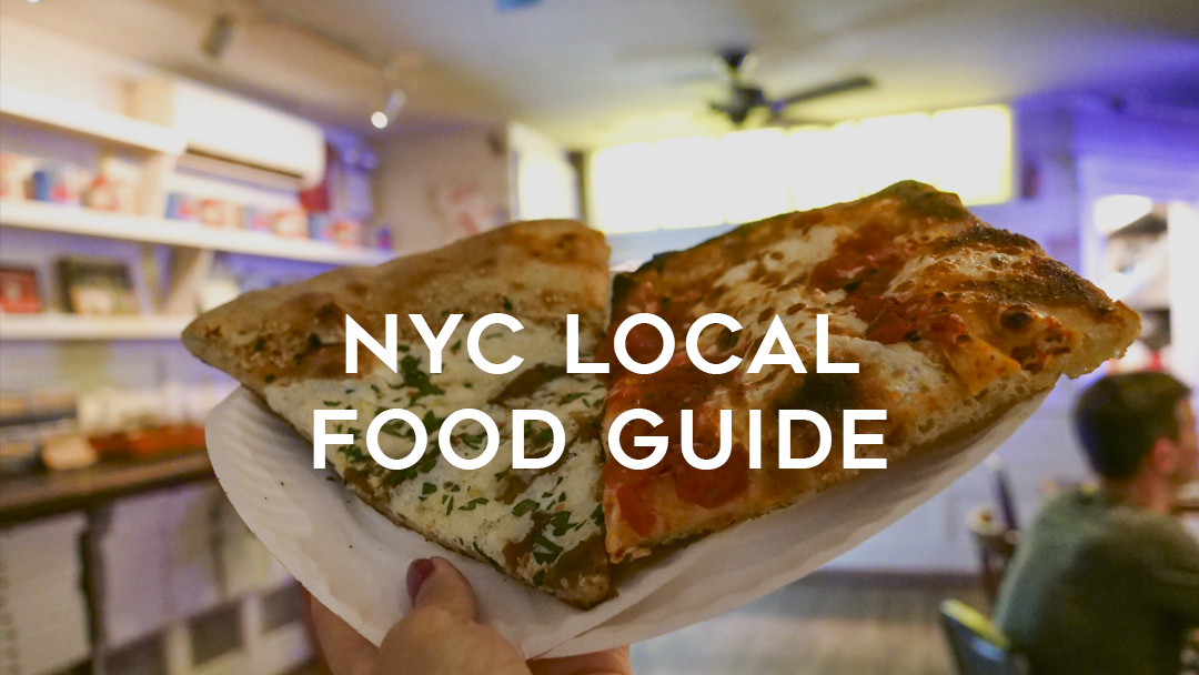 NYC local food guide