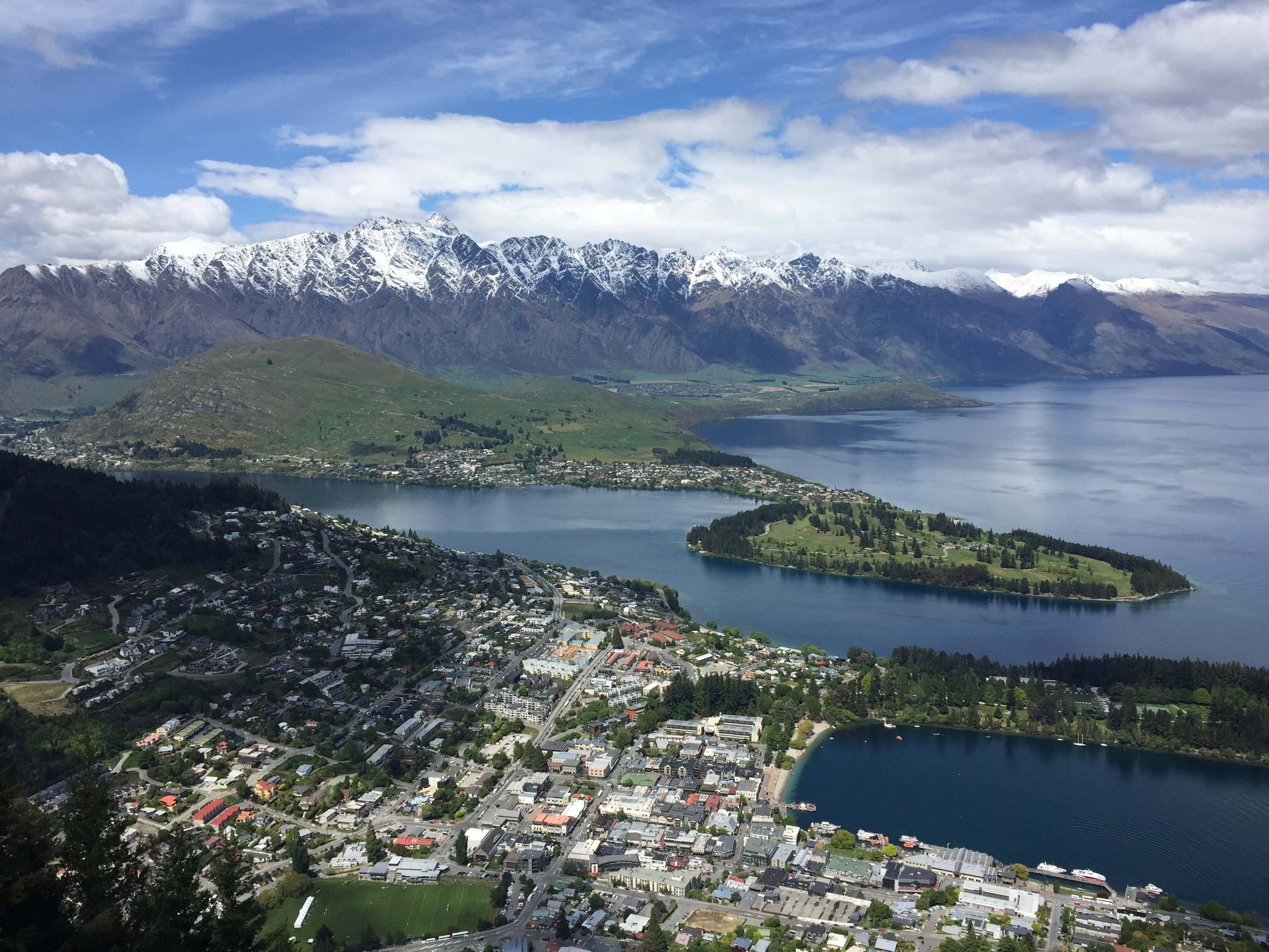 Queenstown NZ Kaeli Conforti top place to visit in 2019 view from above