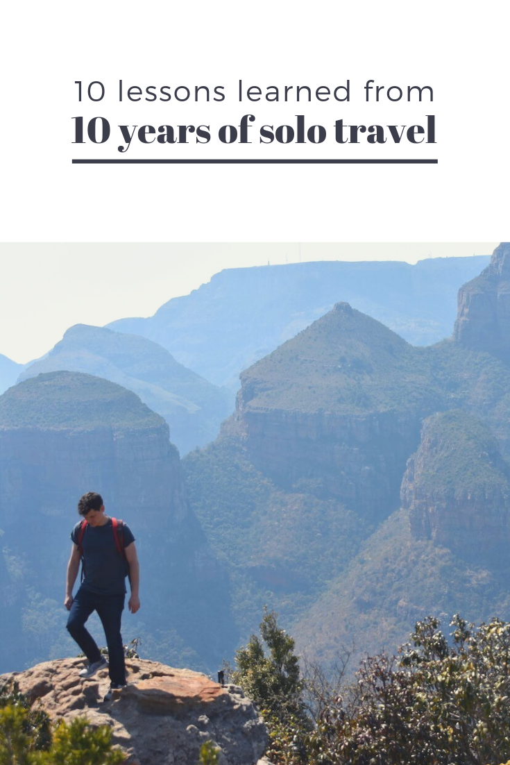 10 lessons from 10 years of solo travel by Nomadic Matt
