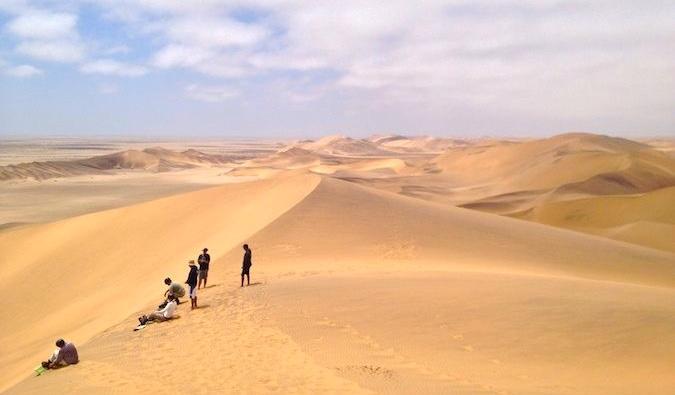 Safari desert Africa Nomadic Matt