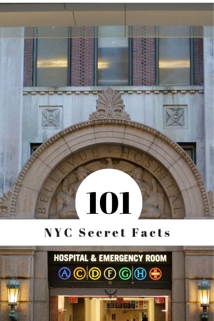 101 Secret NYC Facts Bellevue Hospital