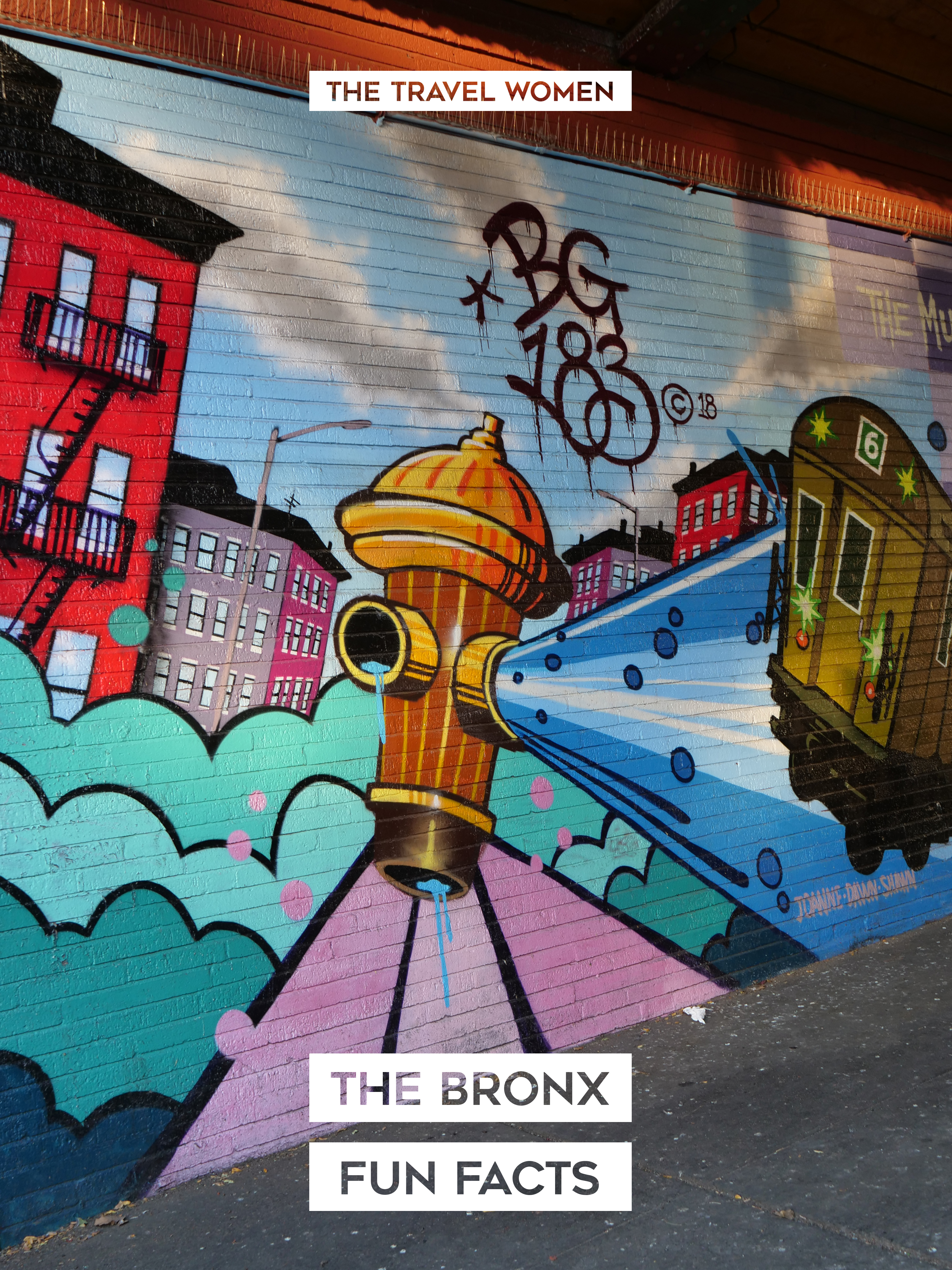0 The Bronx Fun Facts history things you didn't know abut The Bronx hydrant graffiti subway train
