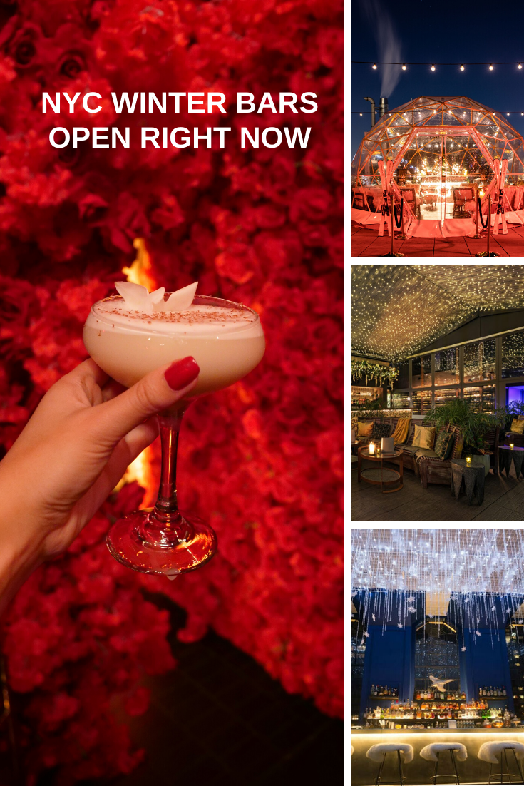NYC winter bars open after Christmas