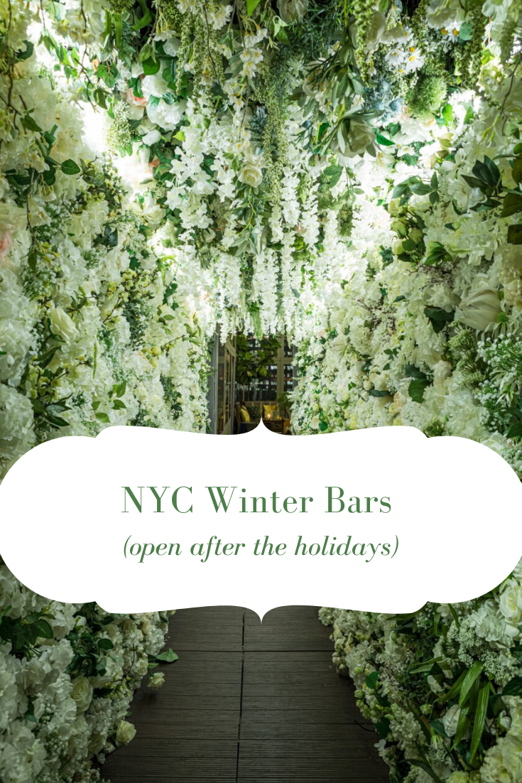 NYC winter bars open after the holidays