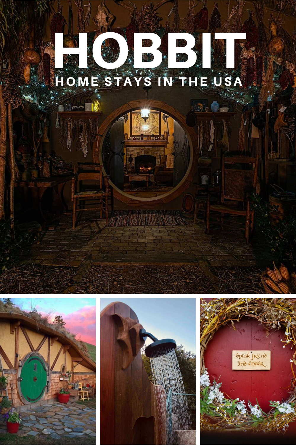 1 Hobbit and Lord of the Rings Airbnb homes and houses in the USA