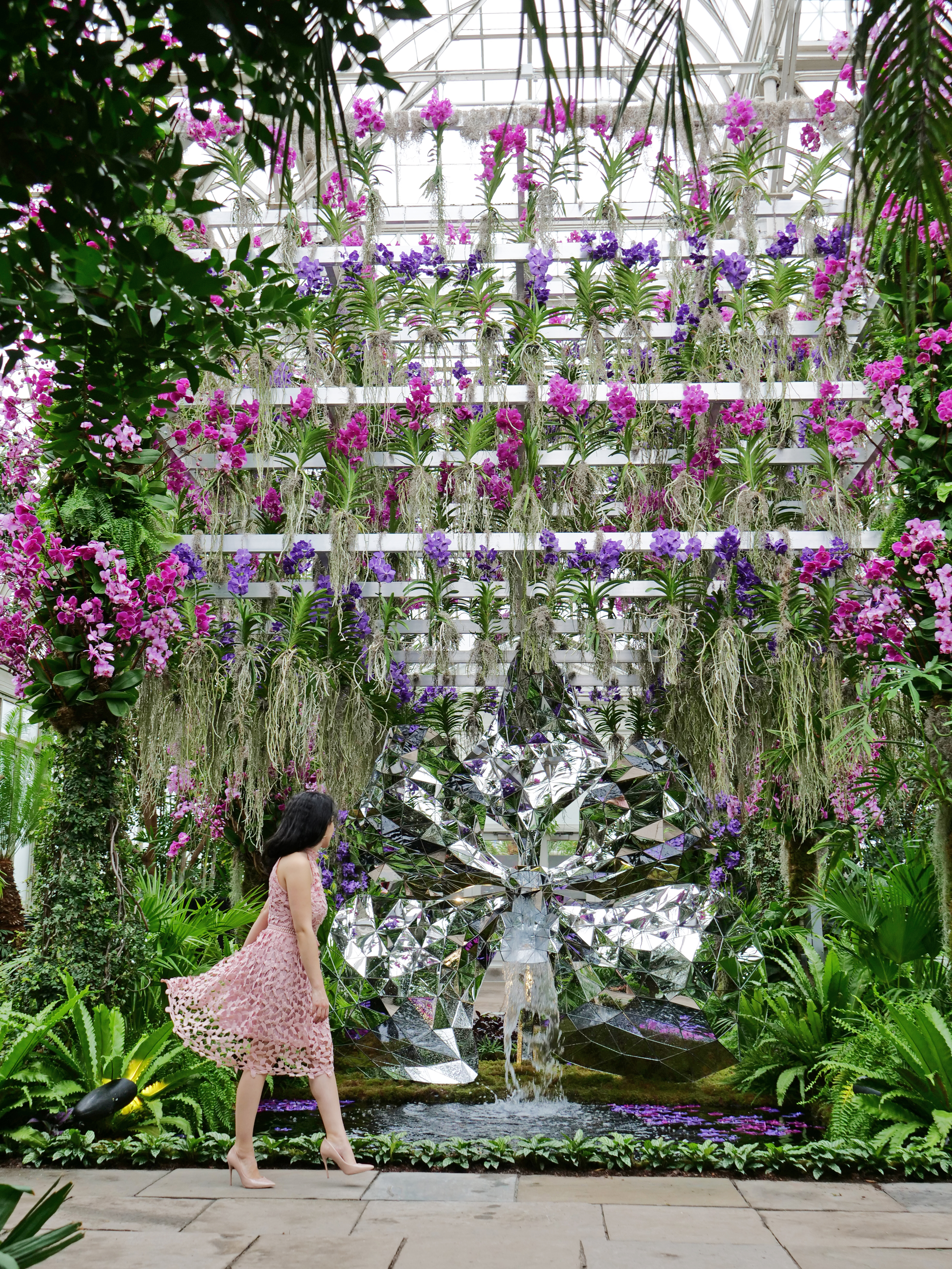 Jeff Leatham NYBG Orchid Show NYC 2020 The Travel Women
