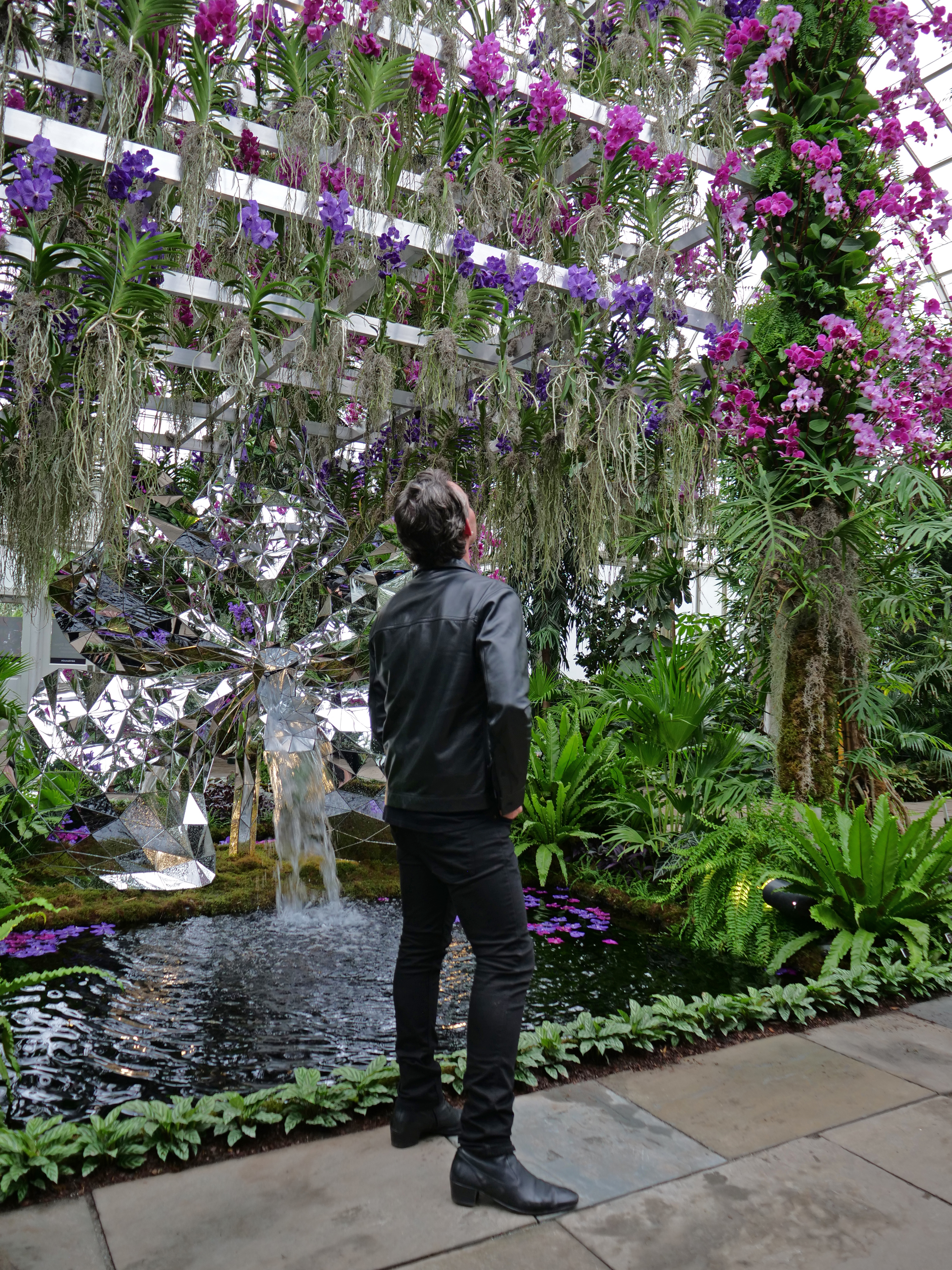 Jeff Leatham NYBG Orchid Show NYC 2020