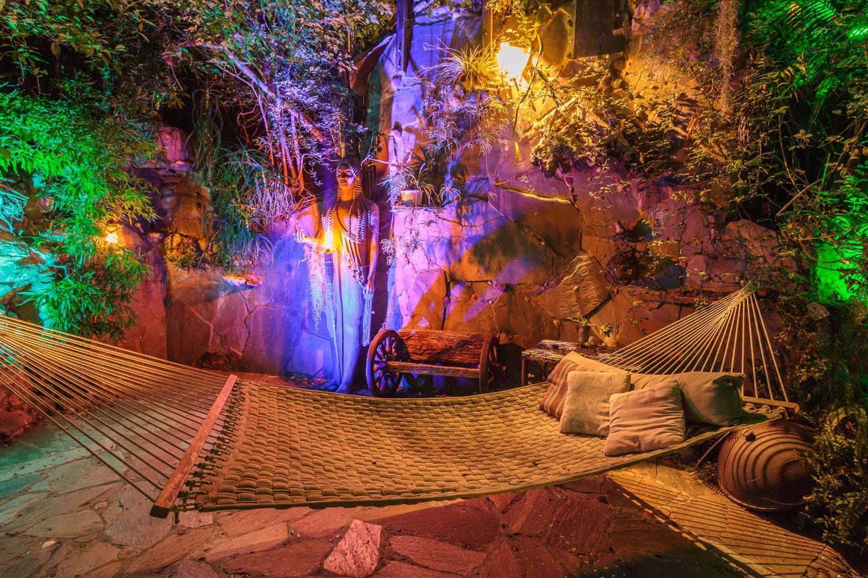 Most Unique USA Airbnbs pirate hammock backyard decor