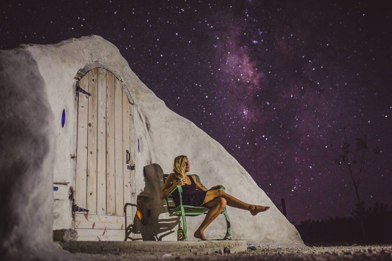 Most Unique USA Airbnbs adobe dome desert stars The Travel Women