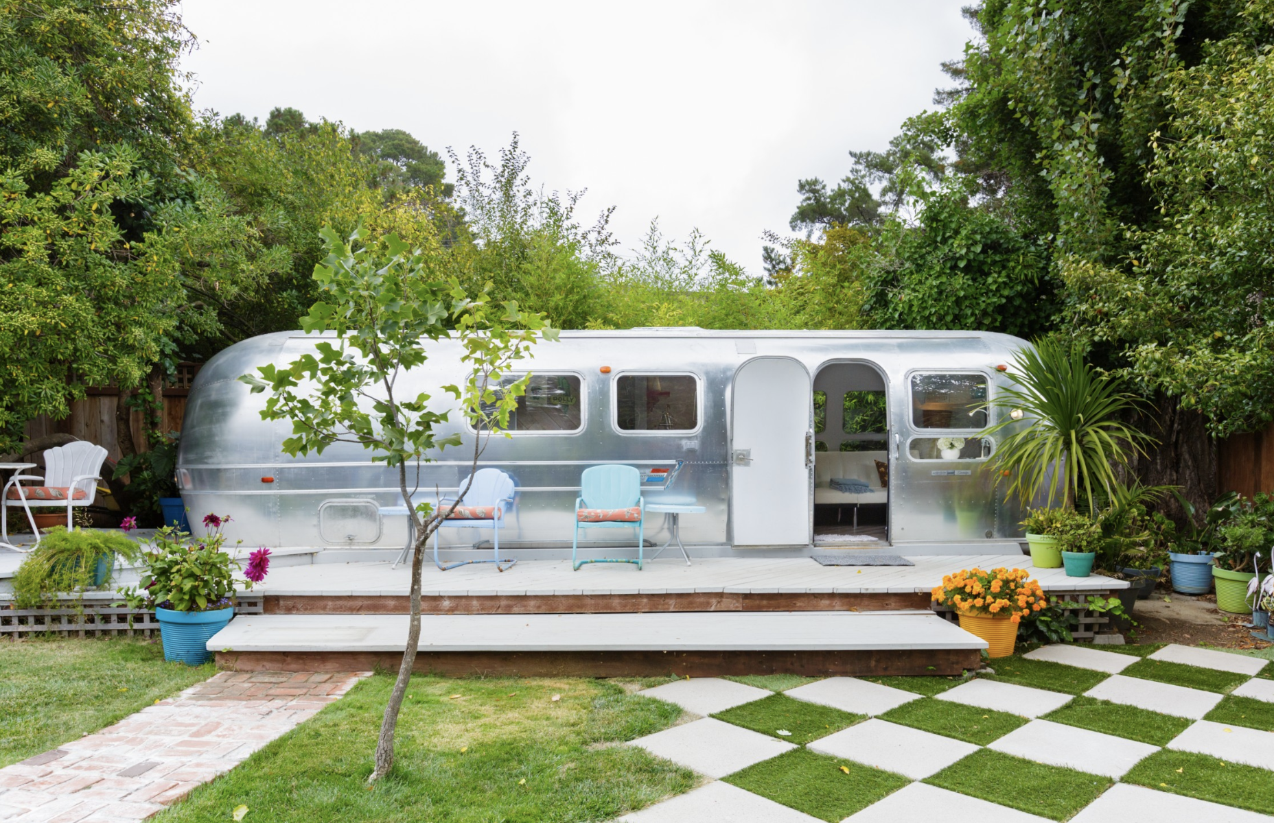 Most Unique USA Airbnbs vintage airstream San Francisco California
