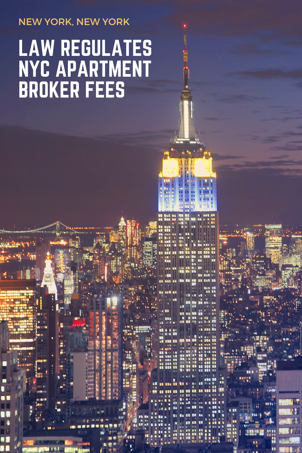 Law regulates NYC apartment broker fees