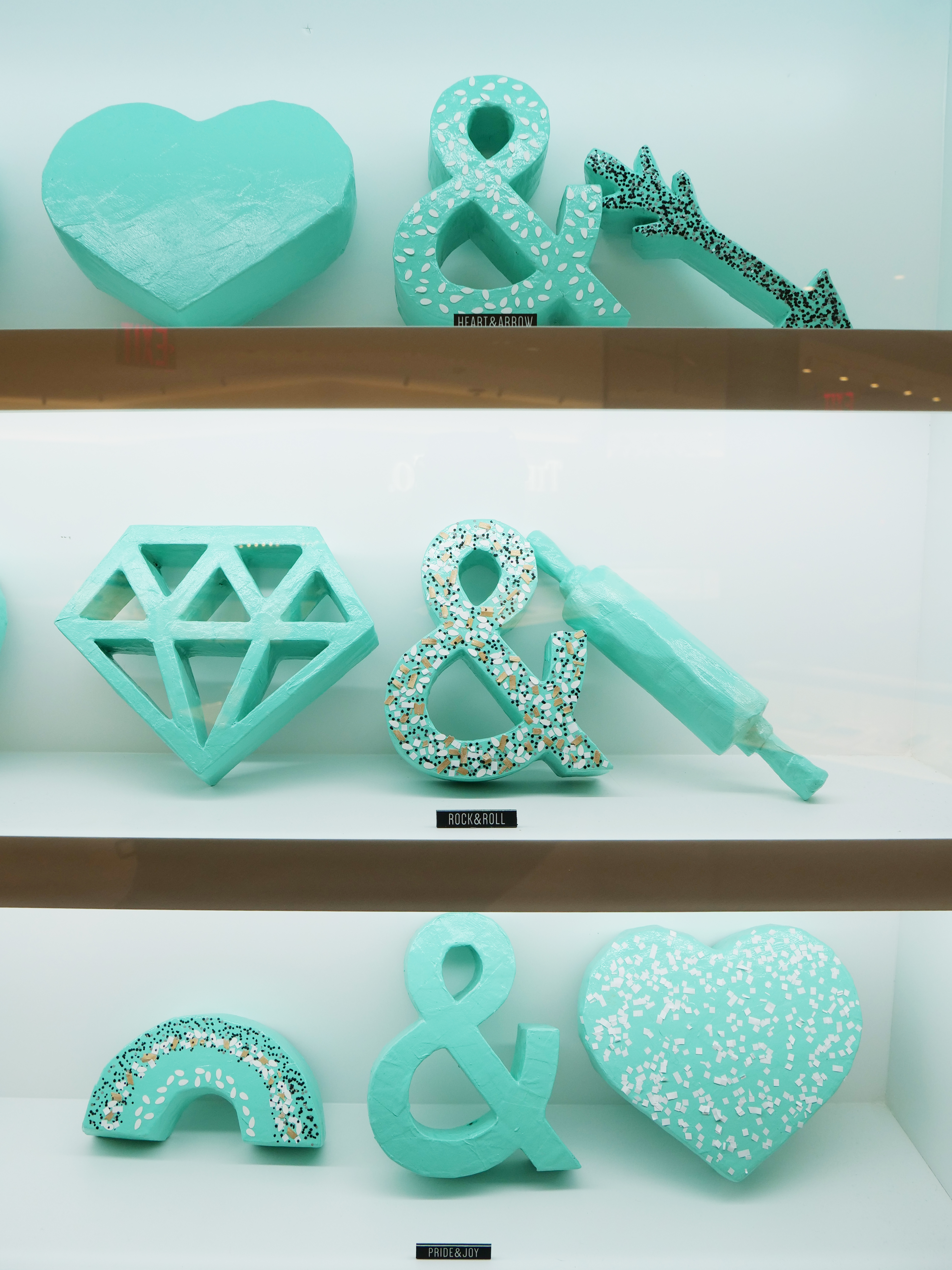 NYC Tiffany and Co Valentine's Day Subway Flower Installation pretzel cart pairing riddles