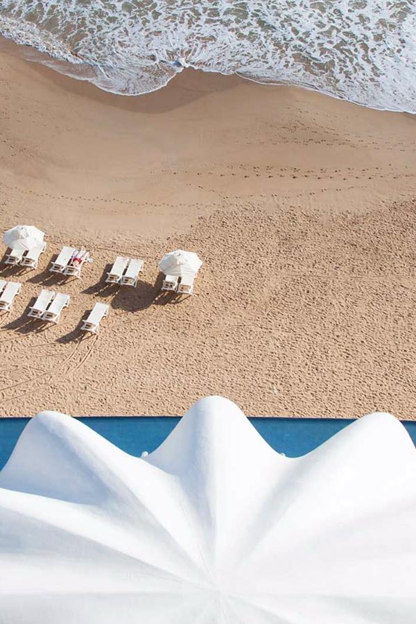 Perla restaurant shell hotel la concha beach chairs ocean