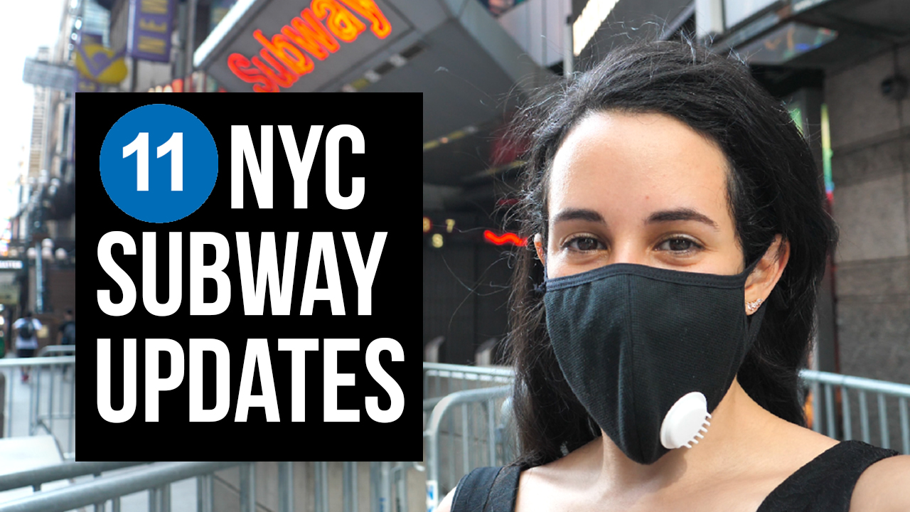 11 NYC subway updates